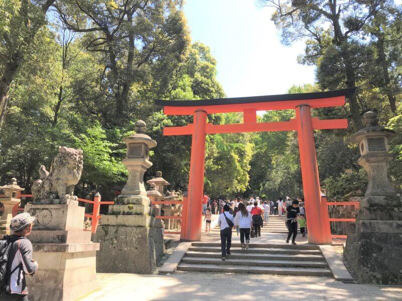 Second Torii Gate of Kasuga Great Shrine